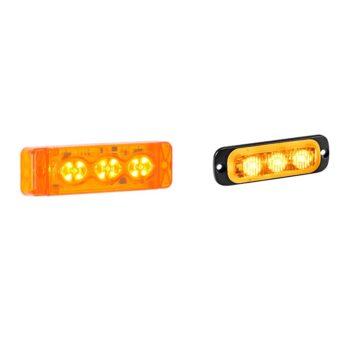 Linear warning lights
