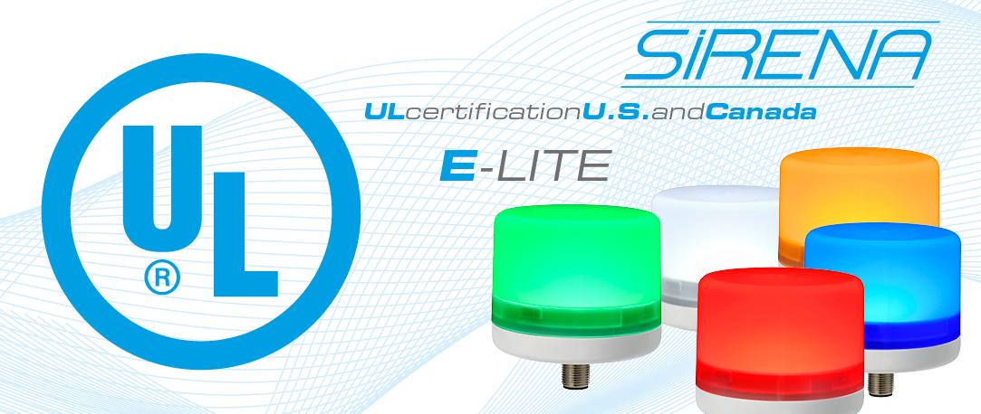 SEGNALATORI P50 Certificazione UL - Sirena segnalatori acustico-luminosi