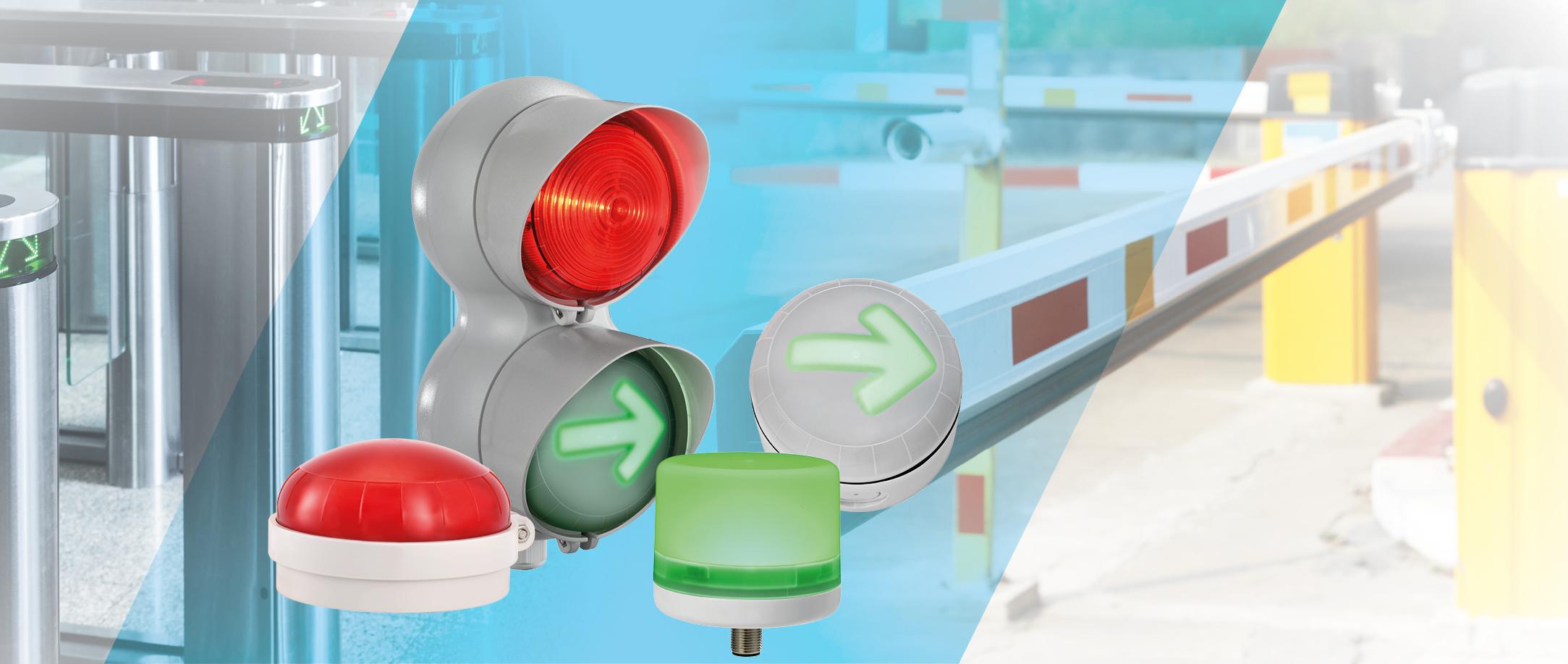 Segnalazione acustico-luminosa per celle frigorifere