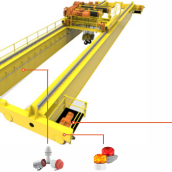 How signaling devices can increase safety during load handling operations with industrial lifting equipment.